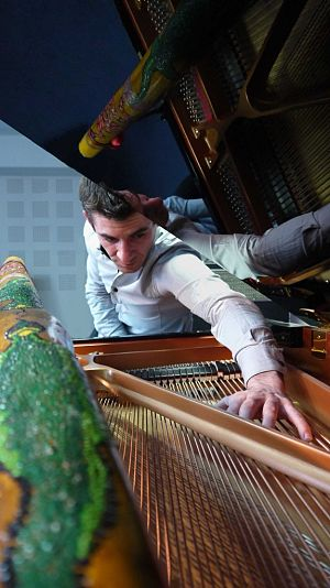 Richard POHER Piano Didgeridoo